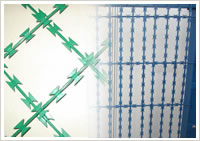 Concertina Type Razor Wire Fence