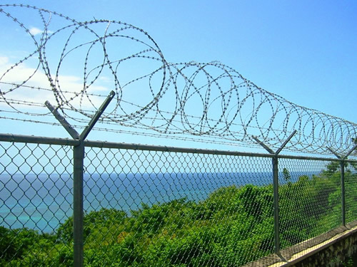 Razor Wire Mobile Security Barrier (Razor Wire Barrier)